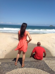 Picture Perfect on Sao Conrado beach