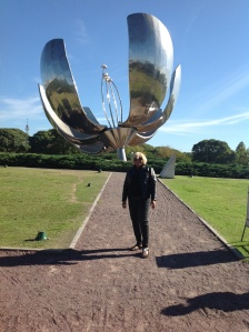 The big steel flower