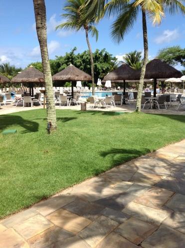 Deville pool area