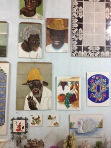 Hand painted tiles by Prince