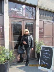 At Cooking School in Paris