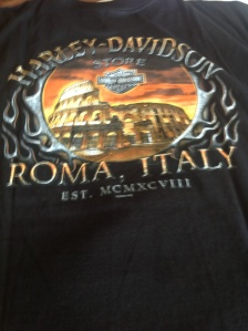 Harley Davidson's 110 year celebration in Roma