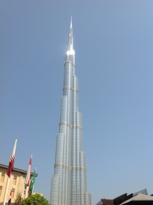 Burj Kalifa - reach the 124th floor in less than 1 minute