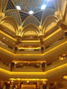 Interior Emirates Palace Hotel