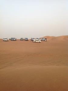 4x4's Ready For Dune Bashing