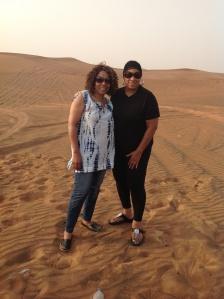 Diva and Queen in the Desert