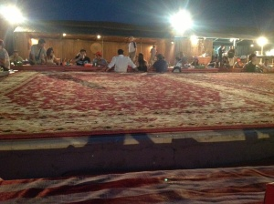 At the Bedouin Camp Site