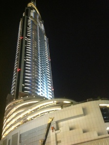 THE ADDRESS  - another fab hotel adjacent to the  world's largest , the Dubai Mall