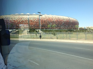Stadium in Soweto holds 74K