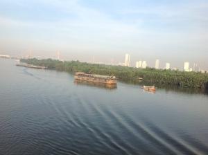 Sailing into Bangkok (Klong Toey)