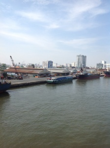 Sailing into Ho Chi Minh