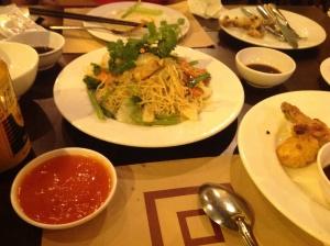Dining at Nha Hang Ngon
