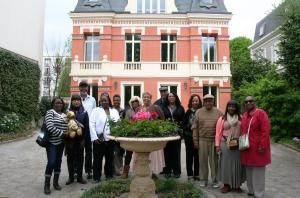 In Front of Villa La Riante