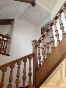 Restored Staircase -- 4 Floors