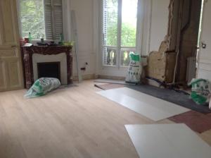 Her Bedroom, New Floor