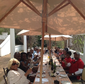 Gourmet lunch and  Wine Tasting at Mont Rochelle, South Africa