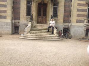 Kat at the Mansion