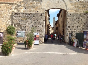 Entrance to the Old Town of San Gimignano