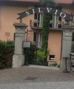 Silvio, our quaint 3 star hotel in Bellagio---- a 5 star in this town can break the bank