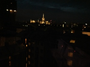Night View from my room.