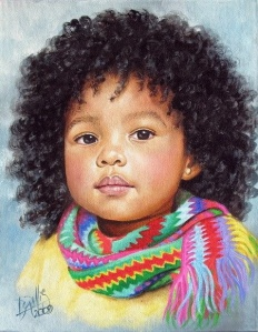 Drawn by Afro Colombian artist, Dora Alis
