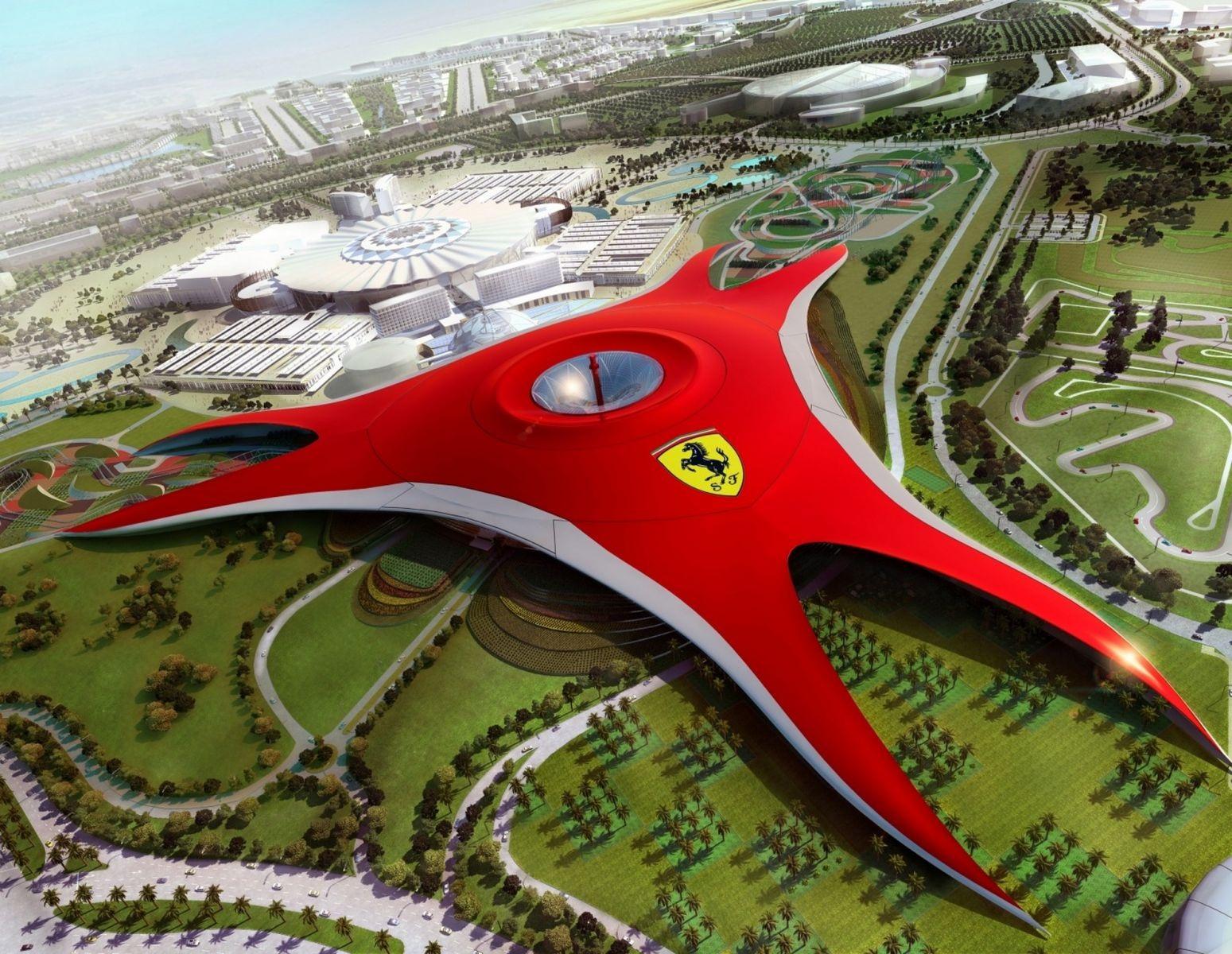Abu Dhabi- Great Mosque, Emirates Palace, Ferrari World ...
