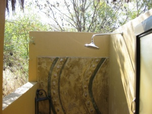 All Rooms with Private Outdoor Shower