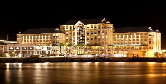 Table Bay Hotel at Night