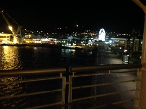 View of the Waterfront From My Balcony
