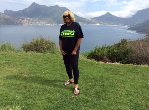 Hout's Bay in the Backdrop
