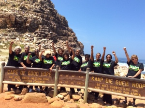 Yebo! At the Cape of Good Hope