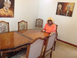 Negotiations To End Apartheid Were Held at This Table