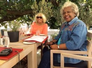 Me and Delta Dear, Dr. Bernadette Watts at Mont Rochelle Wine Estate