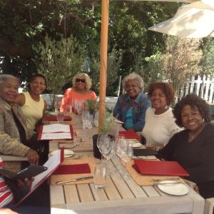 Carolyn, Glenda,Bernadette, Linda and Lucille