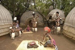 Learning About Tribal Life at Lesedi