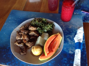 Healthy Jamaican Breakfast at Tree House Everyday