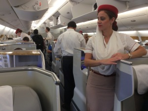 Business Class Emirates A380