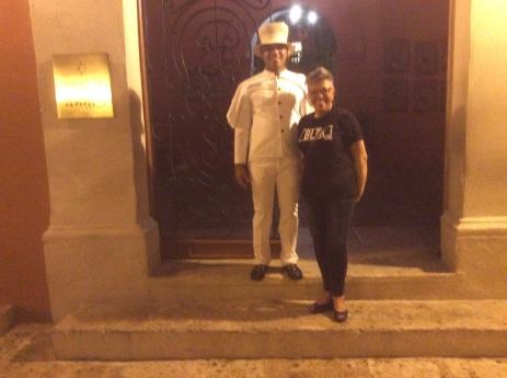 Robbie and Doorman