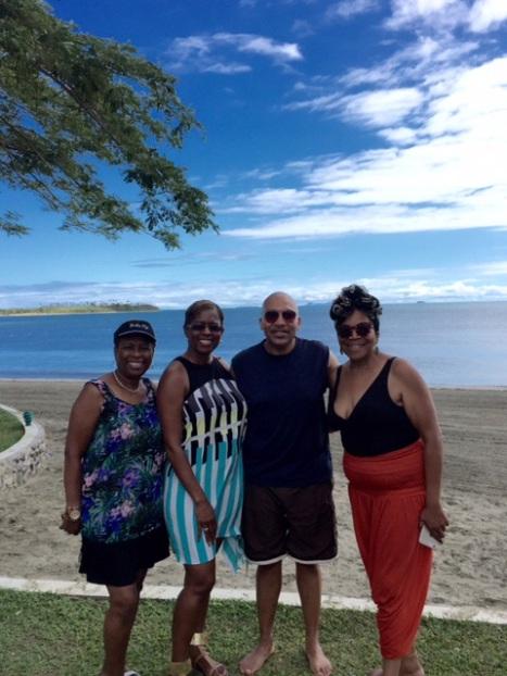 Theresa, Chandra, Van and Deb