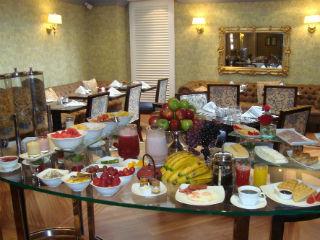 Breakfast Spead at Sofitel