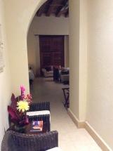 Foyer of my room, Ananda