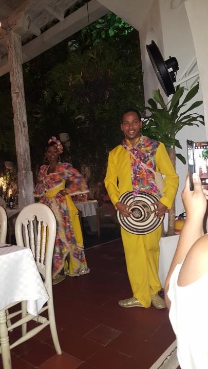 Dancers at CANDE' RESTAURANT