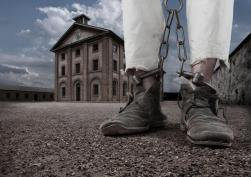 Shackled Prisoner