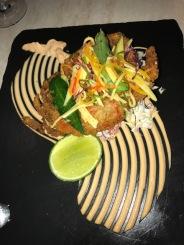 Tempura soft shell crab, at Salsa