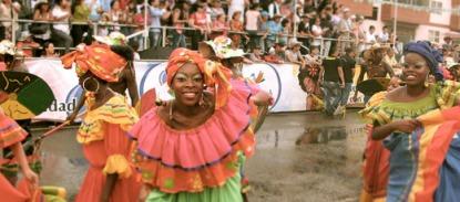 Cartagena Parade