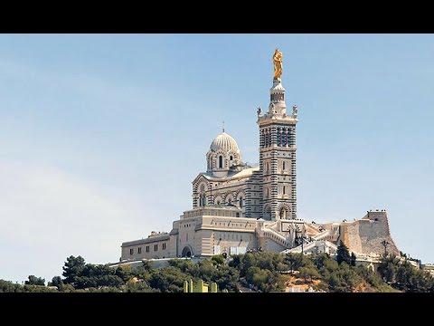 Notre Dame La Garde, highest point in Marseille