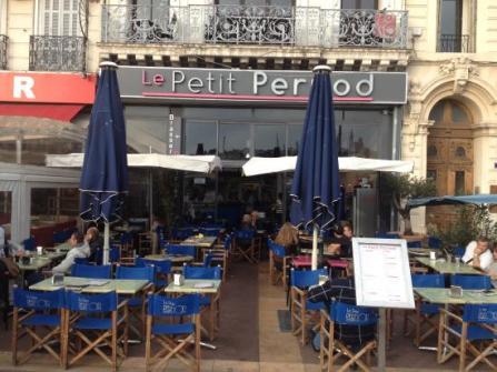 Dinner at Le Petit Pernod