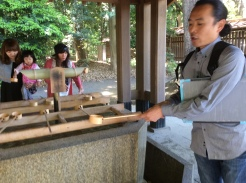 Purification at Meiji