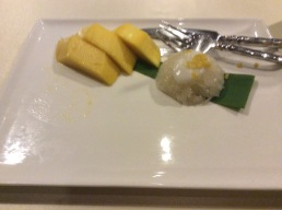 Mango and Sticky Rice , national dessert