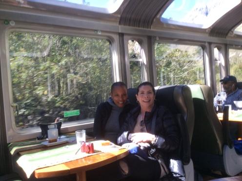 Kim and Michele